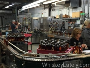 Four Roses old bottling line