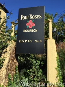 Four Roses Distillery Sign