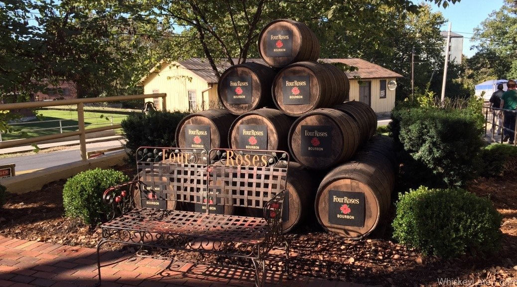Four Roses Distillery Barrels