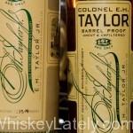 Colonel EH Taylor Jr Barrel Proof