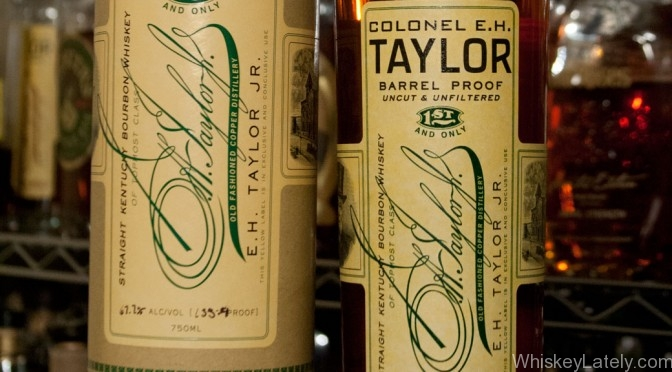 Colonel EH Taylor Jr Barrel Proof