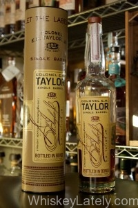 Colonel EH Taylor Single Barrel Bottle