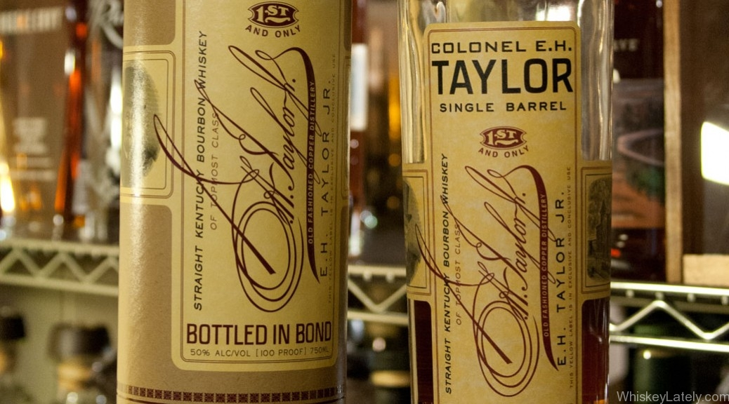 Colonel EH Taylor Jr Single Barrel Feature