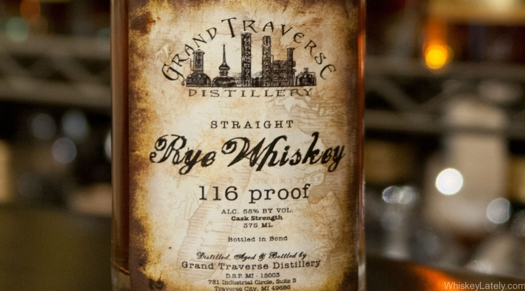 Grand Traverse Cask Strength Rye Whiskey