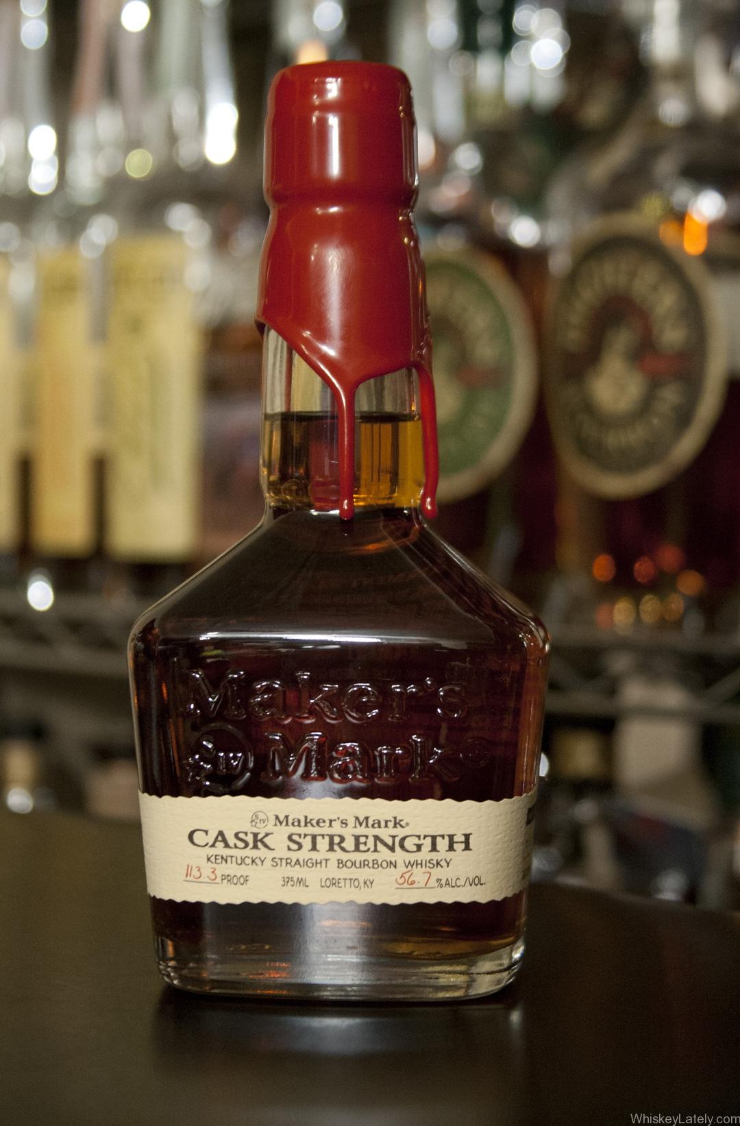 Maker s mark cask strength review whiskey lately