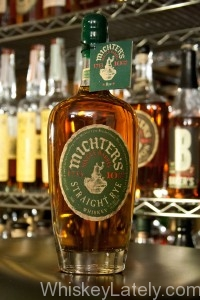 Michter's Single Barrel 10 Rye Bottle